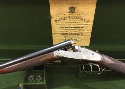 Westley Richards SXS Shotgun